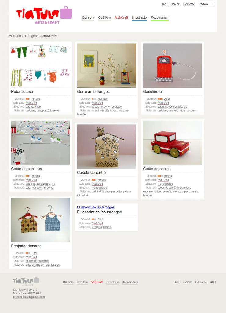 Arts&Craft  Tia Tula