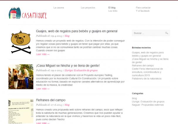 El Blog de Casa Miguel  talleres  actividades...